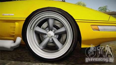 Chevrolet Corvette C4 Cabrio 1996 для GTA San Andreas вид сзади