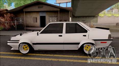 Proton Saga 1985 Widebody ver. для GTA San Andreas