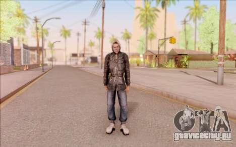 Дегтярёв в бандитской куртке из S.T.A.L.K.E.R. для GTA San Andreas второй скриншот