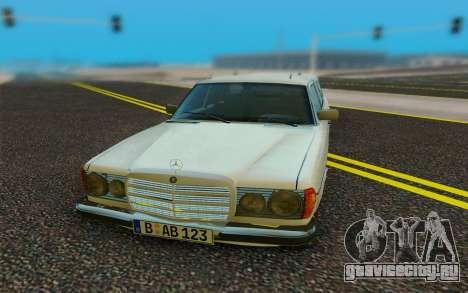 Mercedes-Benz W123 Wagon для GTA San Andreas