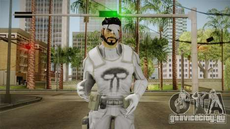 Punisher Dead Winter Skin для GTA San Andreas