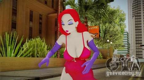 Jessica Rabbit Skin для GTA San Andreas