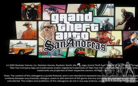 Loadscreens Remastered (HD) для GTA San Andreas