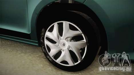 Renault Fluence Joy для GTA San Andreas вид справа