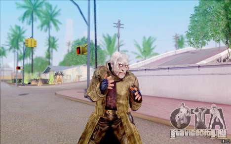 Выродок в плаще из S.T.A.L.K.E.R для GTA San Andreas пятый скриншот