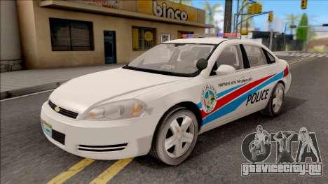 Chevrolet Impala Las Venturas Police Department для GTA San Andreas