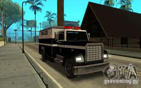Enforcer под ELM для GTA San Andreas вид сзади слева