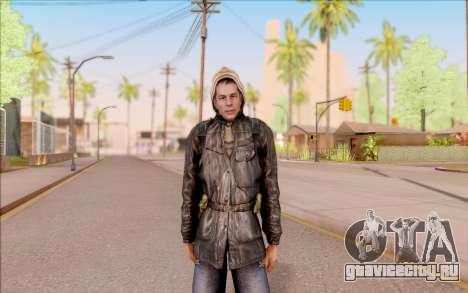 Дегтярёв в бандитской куртке из S.T.A.L.K.E.R. для GTA San Andreas