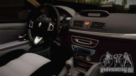 Renault Fluence Icon для GTA San Andreas вид изнутри