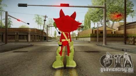 Sonic Forces: Custom Hero для GTA San Andreas третий скриншот