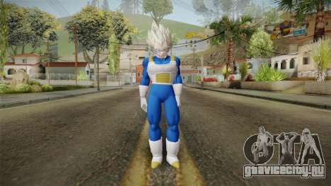 Vegeta Skin HD v2 для GTA San Andreas второй скриншот