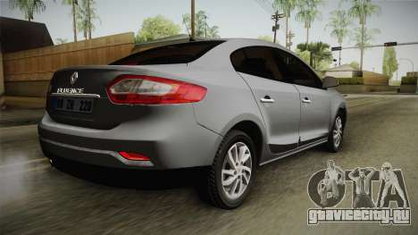 Renault Fluence Icon для GTA San Andreas вид слева