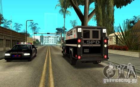 Enforcer под ELM для GTA San Andreas вид справа