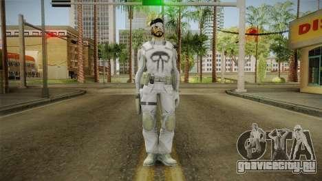 Punisher Dead Winter Skin для GTA San Andreas второй скриншот