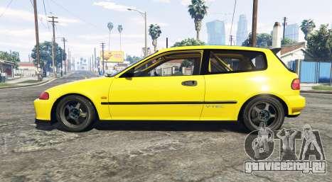 Honda Civic SIR (EG6) [add-on] для GTA 5 вид слева