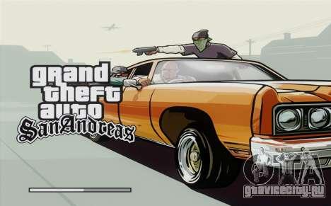 Loadscreens Remastered (HD) для GTA San Andreas шестой скриншот