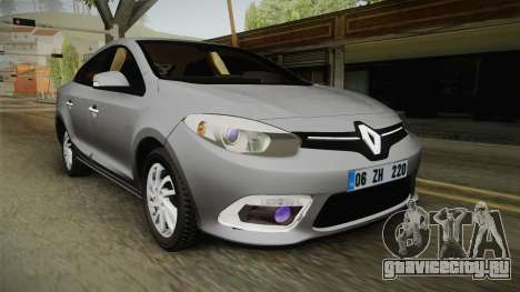 Renault Fluence Icon для GTA San Andreas