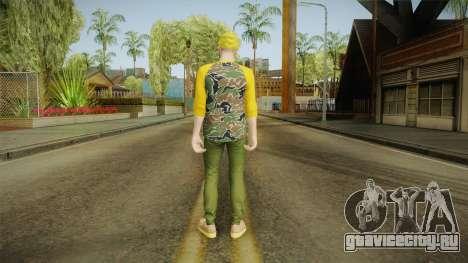 GTA Online - Hipster Skin 3 для GTA San Andreas третий скриншот