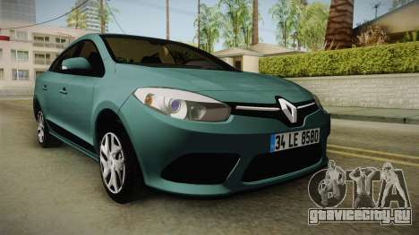 Renault Fluence Joy для GTA San Andreas