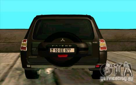 Mitsubishi Pajero Азери для GTA San Andreas вид справа