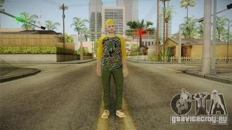 GTA Online - Hipster Skin 3 для GTA San Andreas второй скриншот