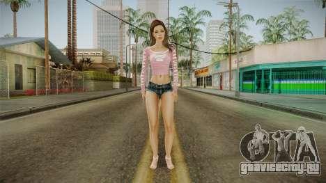 Keisha Skin для GTA San Andreas