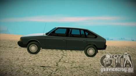 Москвич Юрий Долгорукий 2001 для GTA San Andreas вид слева