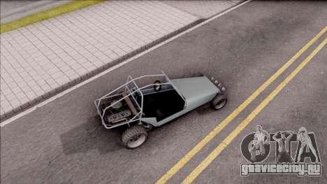 GTA V BF Dune Buggy для GTA San Andreas вид сзади слева