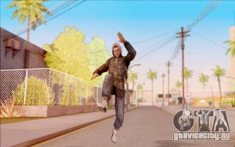 Дегтярёв в бандитской куртке из S.T.A.L.K.E.R. для GTA San Andreas пятый скриншот