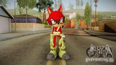 Sonic Forces: Custom Hero для GTA San Andreas второй скриншот