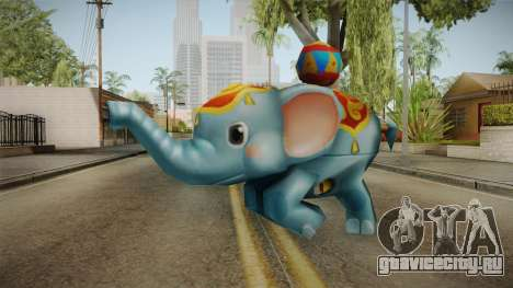 SFPH Playpark - Elephant Toy для GTA San Andreas