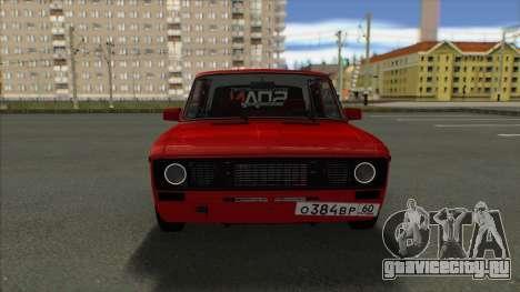 ВАЗ 2106 ШохерИзАда 2.2 GVR SA:MP для GTA San Andreas вид сзади слева