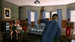 Вечеринка в доме CJ