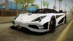Koenigsegg Agera RS v3 для GTA San Andreas