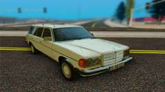 Mercedes-Benz W123 Wagon для GTA San Andreas