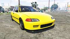 Honda Civic SIR (EG6) [add-on] для GTA 5