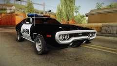Plymouth GTX Police LVPD 1972