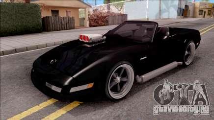 Chevrolet Corvette C4 1996 Cabrio для GTA San Andreas