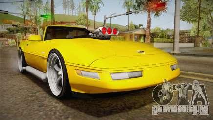 Chevrolet Corvette C4 Cabrio 1996 для GTA San Andreas