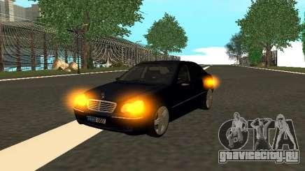 Mercedes-Benz C180 Armenian для GTA San Andreas