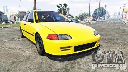 Honda Civic SIR (EG6) [add-on] для GTA 5