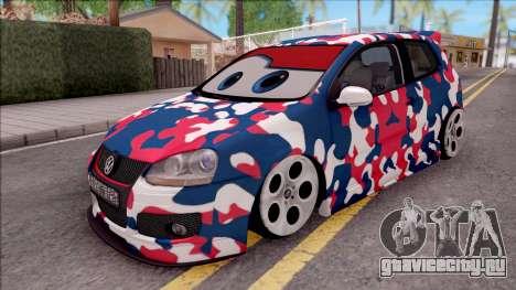 Volkswagen Golf BK GARAGE для GTA San Andreas