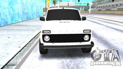 VAZ 2121 Armenian для GTA San Andreas вид слева