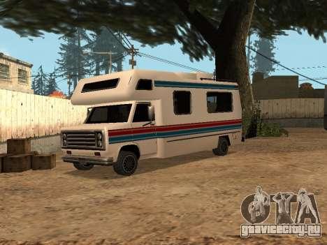 Путешествие с красной и синей полосой для GTA San Andreas