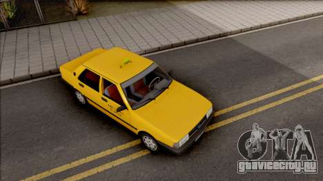 Tofas Sahin Taxi 1999 v2 для GTA San Andreas вид справа