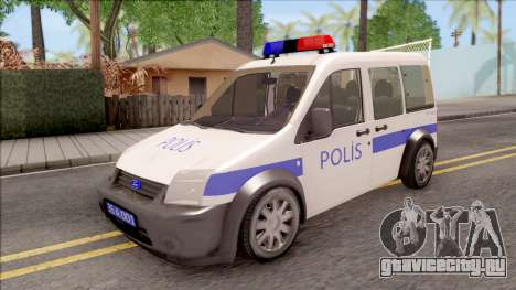 Ford Tourneo Connect K210S Turkish Police для GTA San Andreas