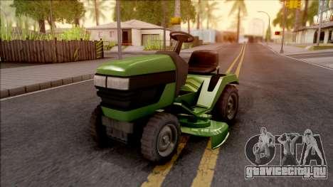 GTA V Jacksheepe Lawn Mower IVF для GTA San Andreas
