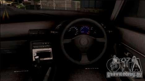 Nissan Skyline R32 Pickup v2 для GTA San Andreas вид изнутри