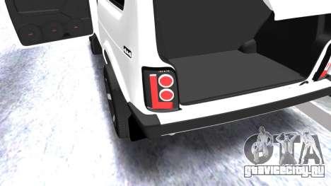 VAZ 2121 Armenian для GTA San Andreas вид сбоку