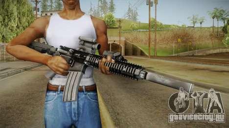 MK18 SAS Rifle для GTA San Andreas третий скриншот